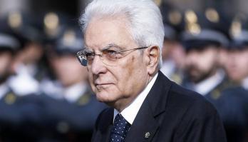 Итальянский президент Серджо Матарелла